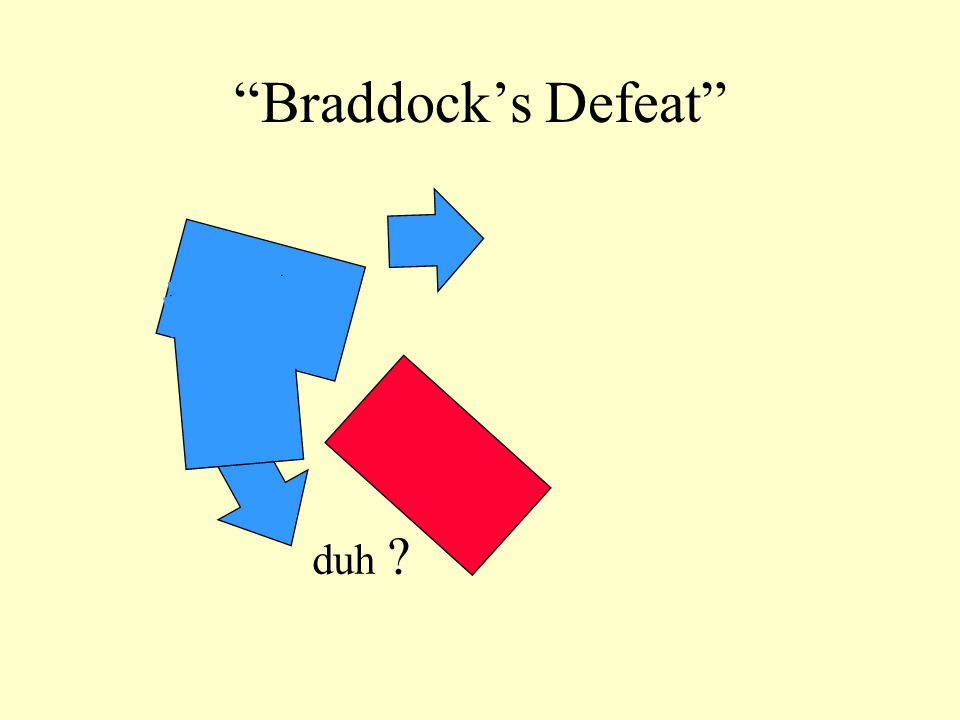"""Braddock's Defeat"" duh ?"