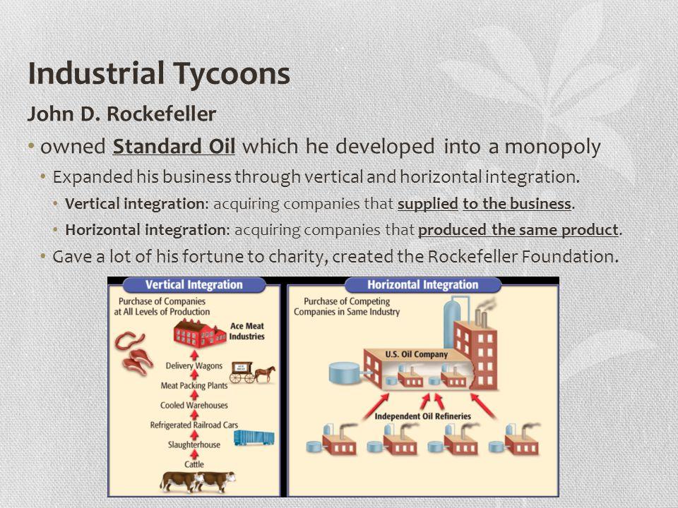 Industrial Tycoons John D.
