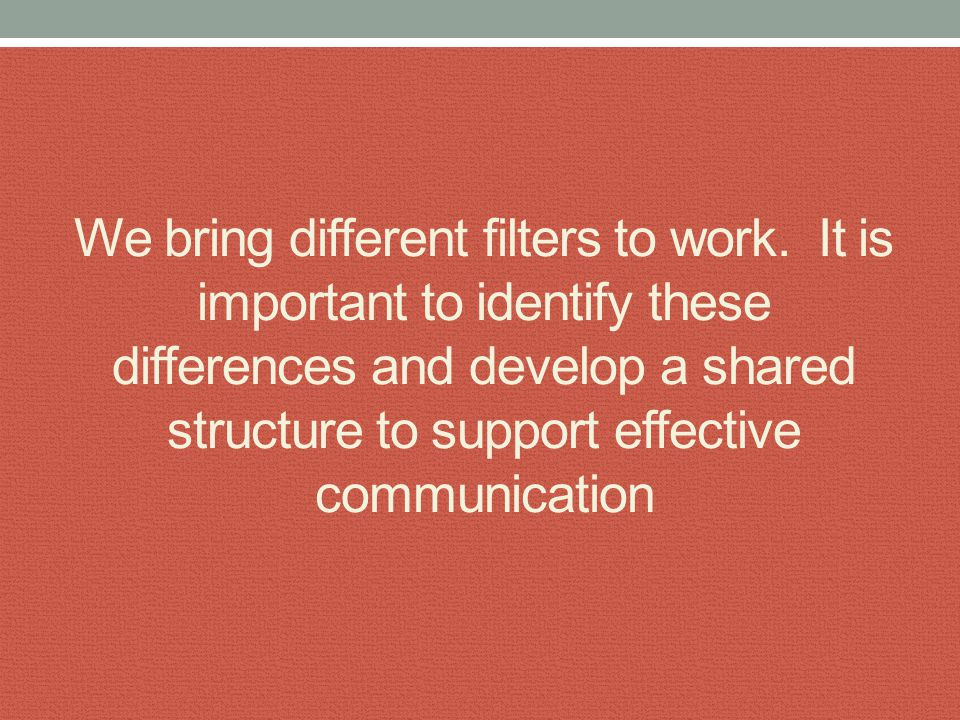 Communication errors are a team and system approach