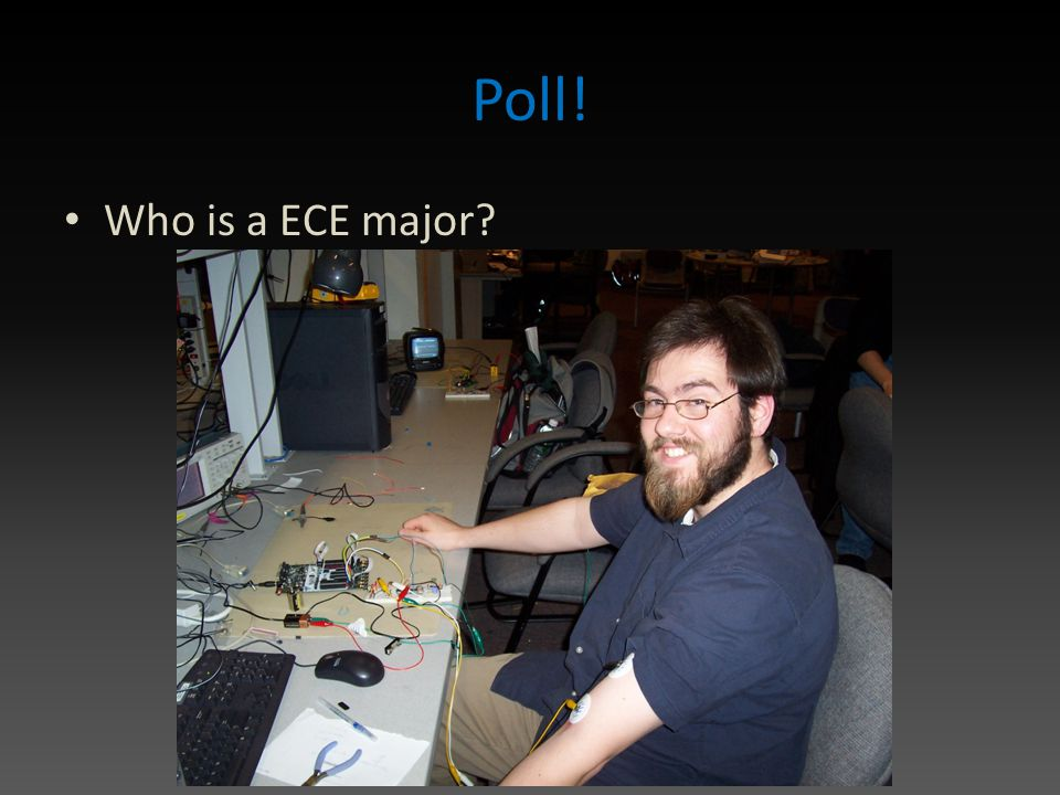 Poll! Who is a ECE major?