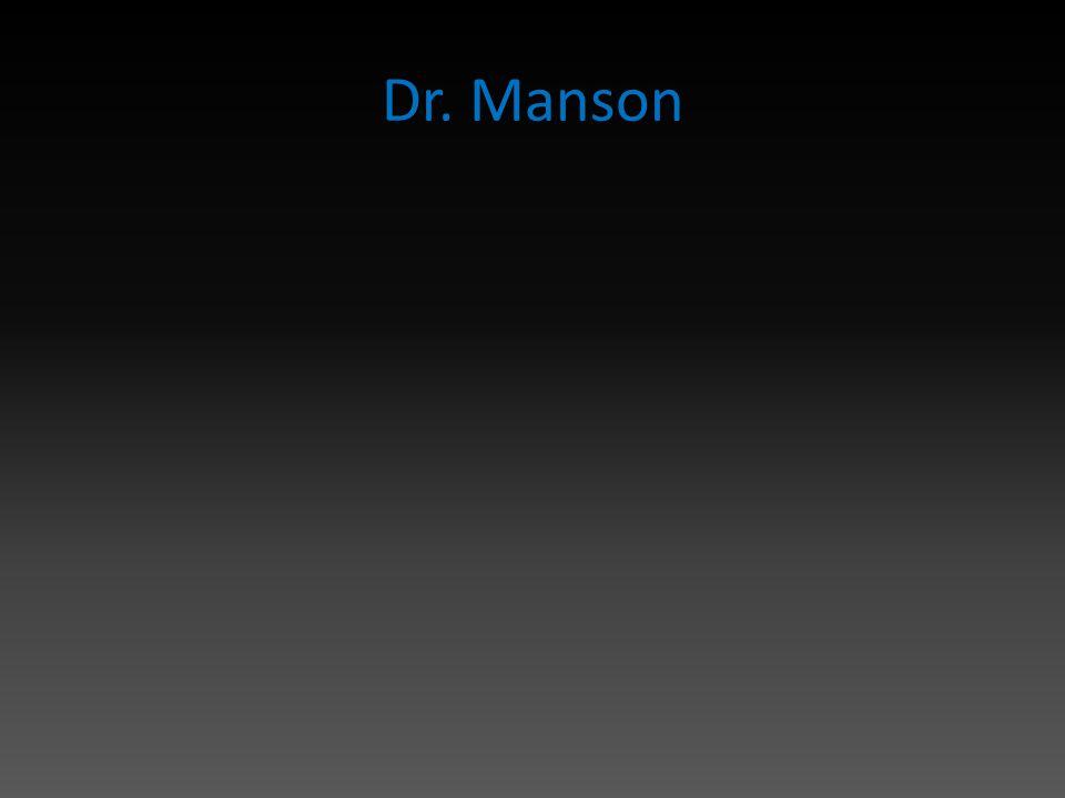 Dr. Manson
