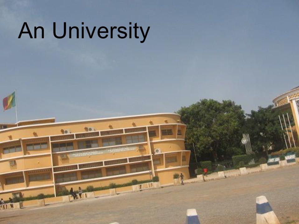An University