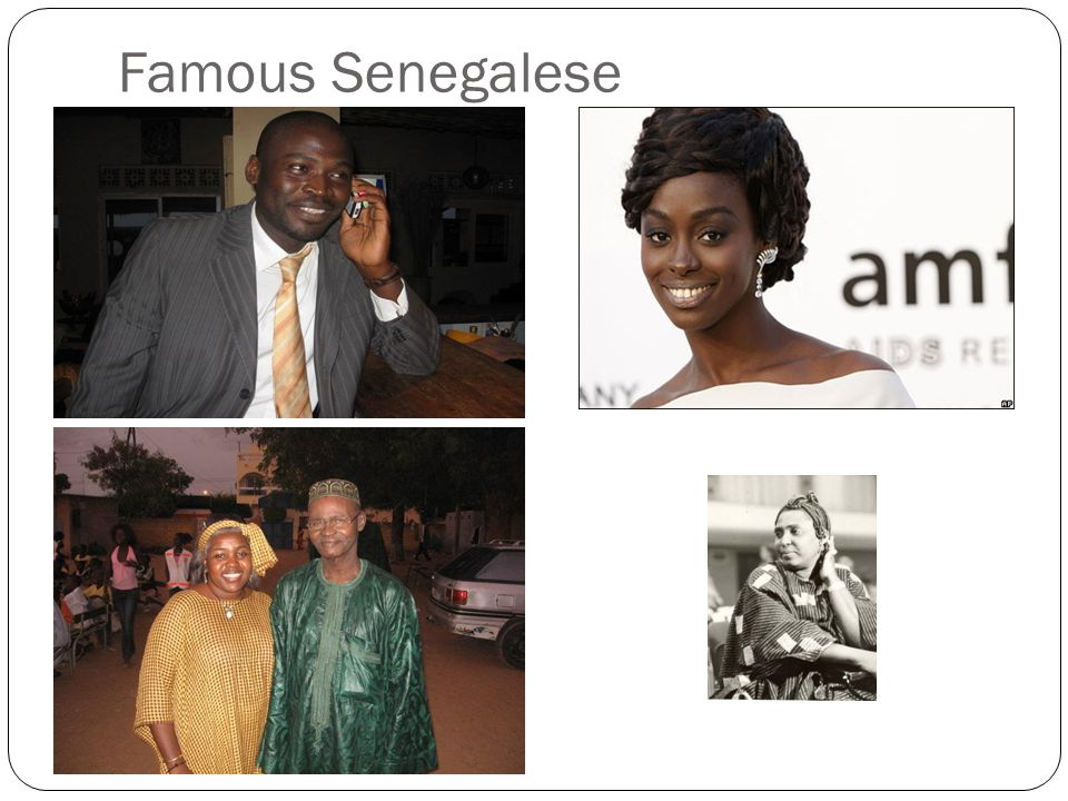 Famous Senegalese