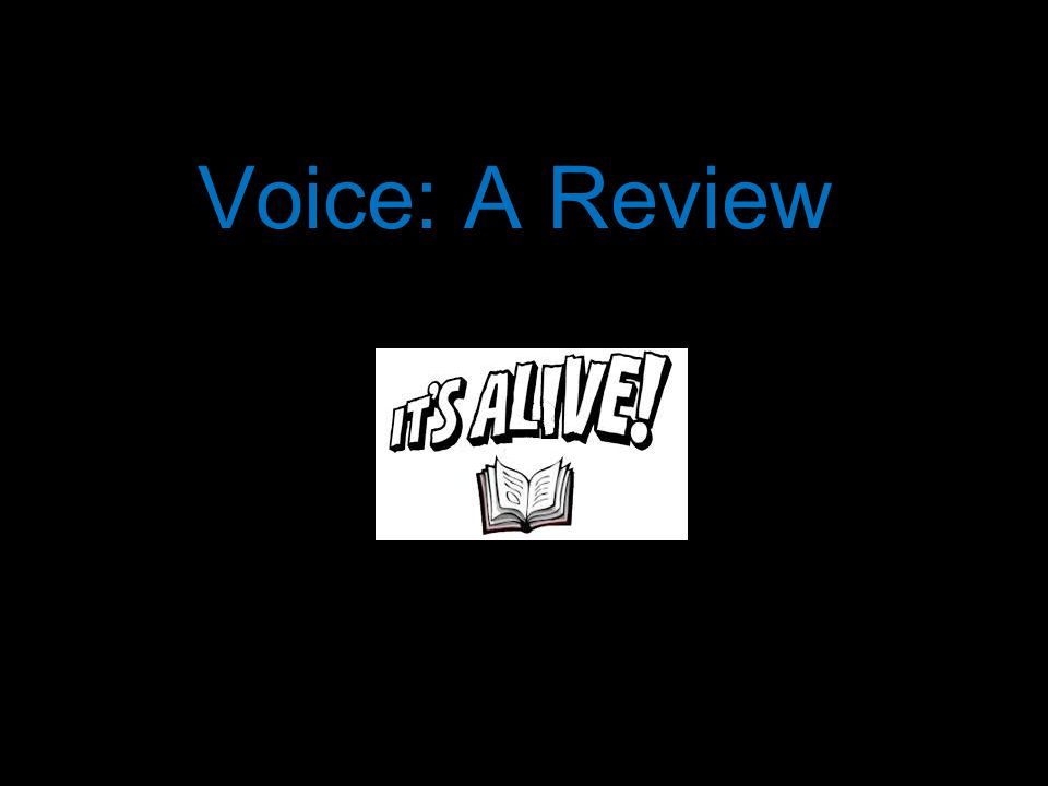 Voice: A Review
