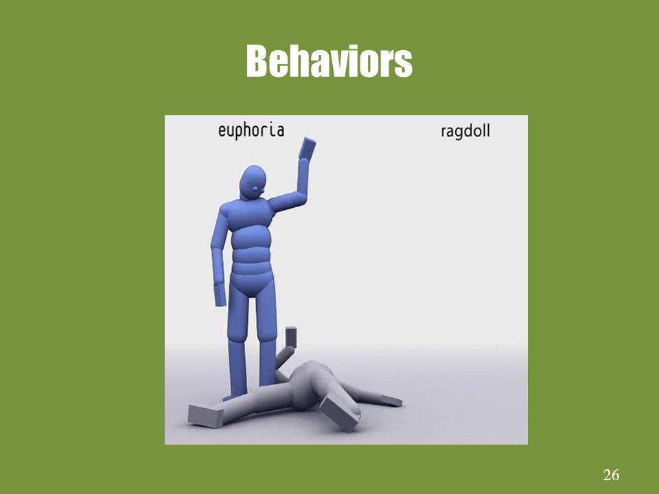 26 Behaviors