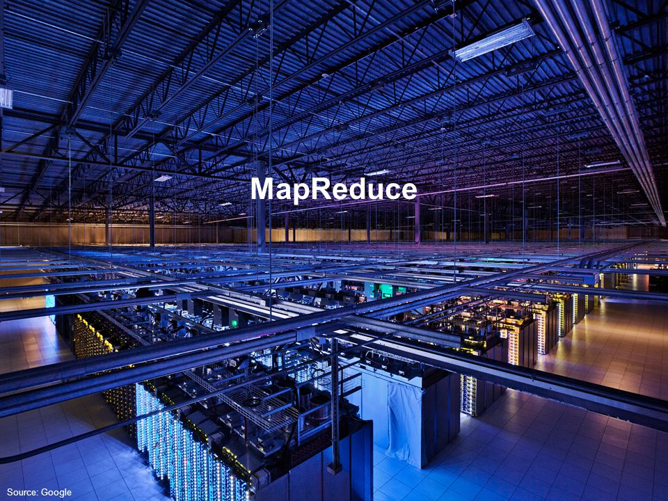 Source: Google MapReduce