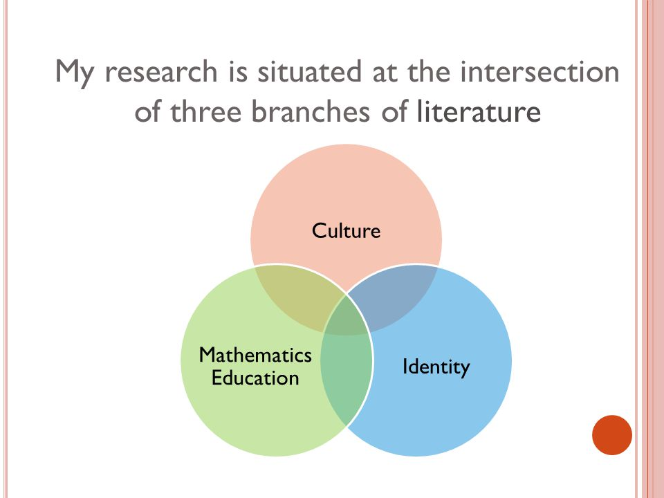 My research is situated at the intersection of three branches of literature