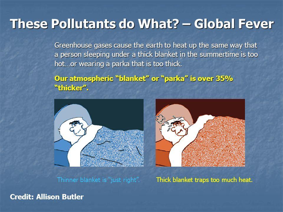 These Pollutants do What.