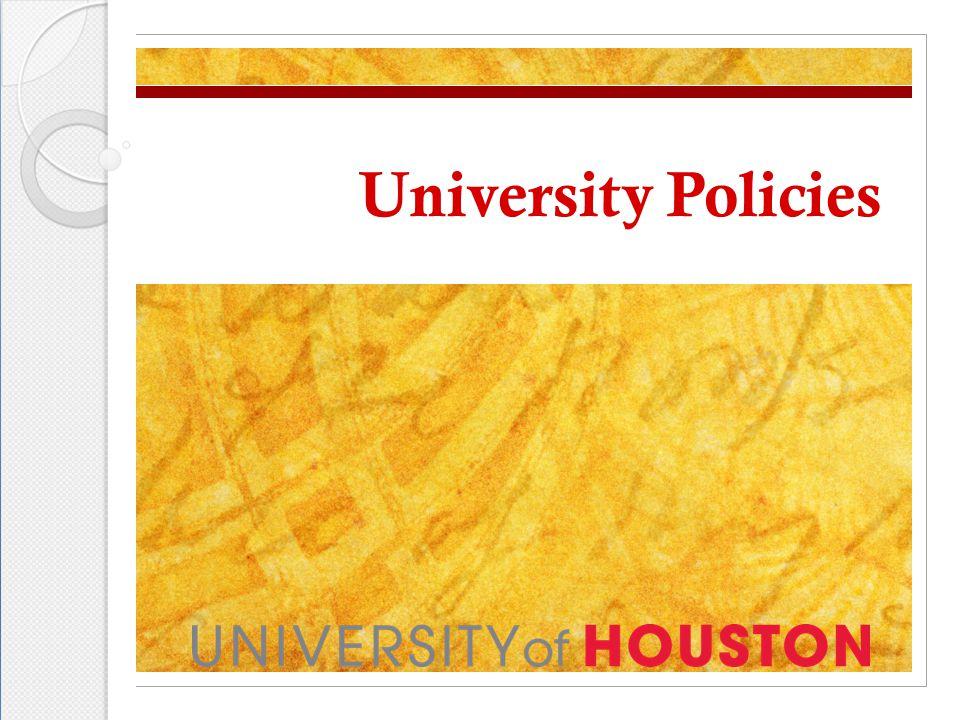 University Policies