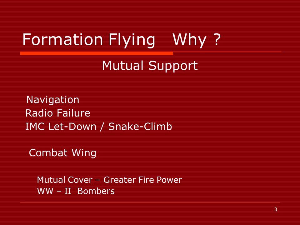 3 Formation FlyingWhy .