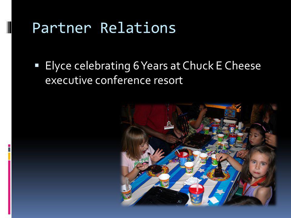 Partner Relations  Spring Concert Program Elyce