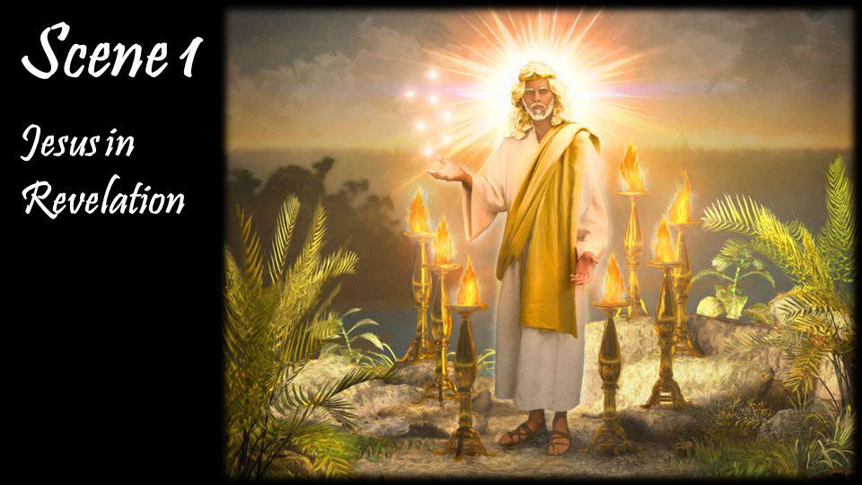 Jesus in Revelation Scene 1