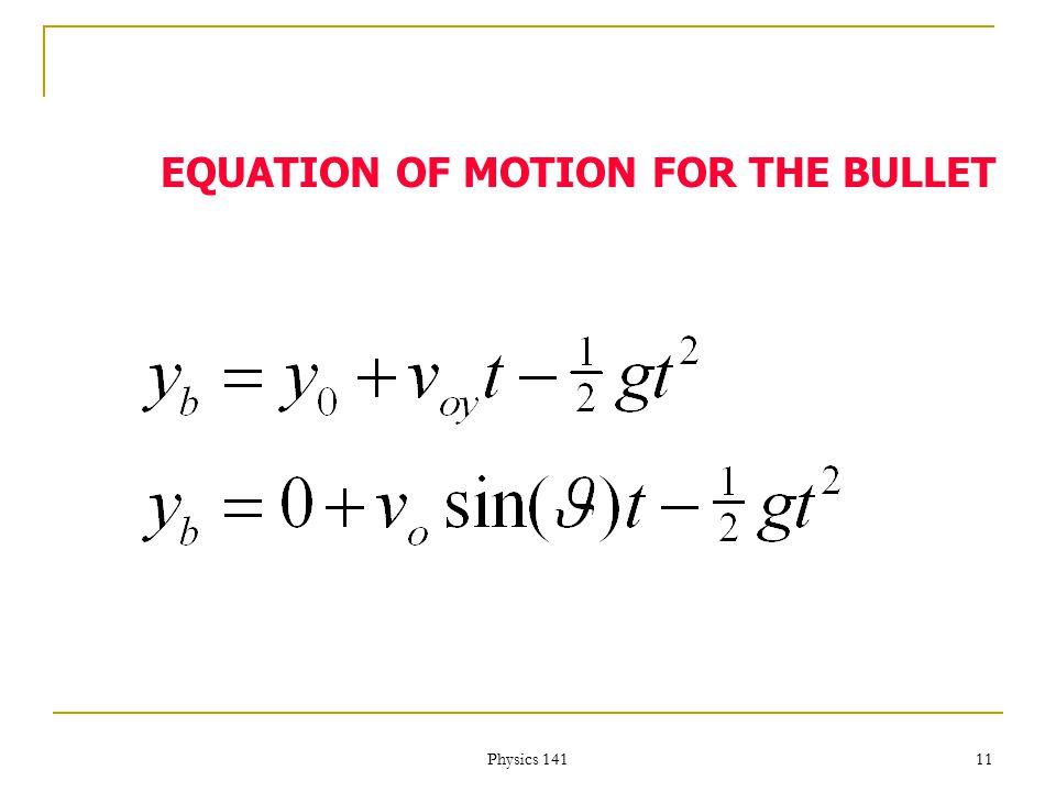 Physics 141 10 THE STUPID MONKEY x vovo 0 h