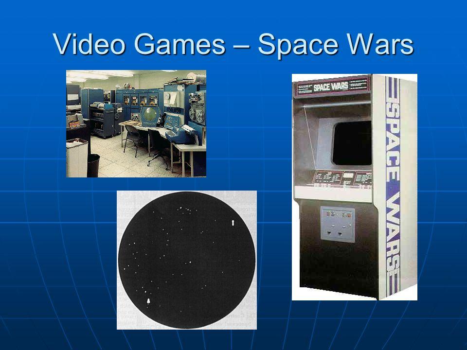 Video Games – Space Wars