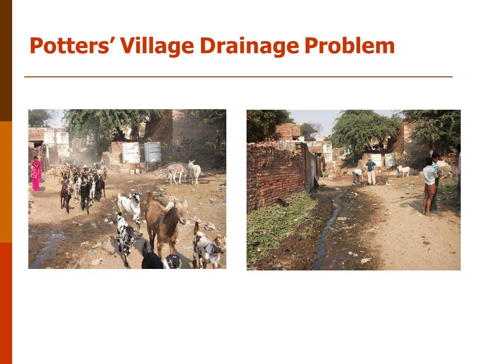 Potters' Village Drainage Problem