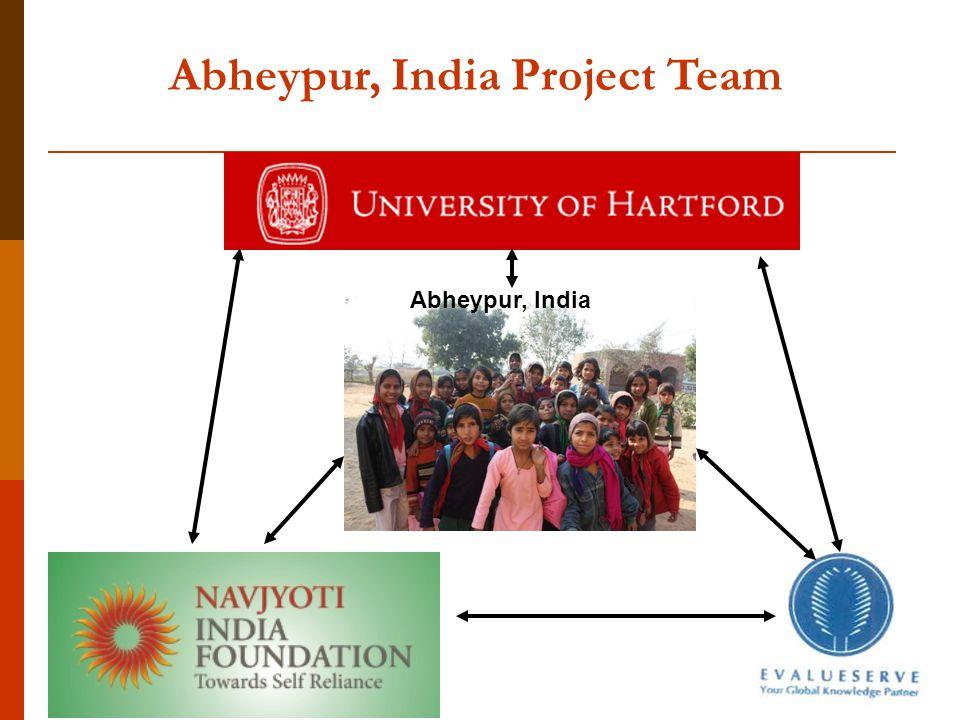 Abheypur, India Project Team Abheypur, India