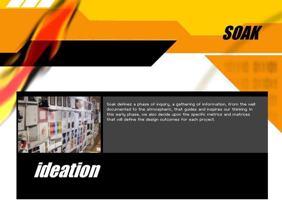 SOAK ideation