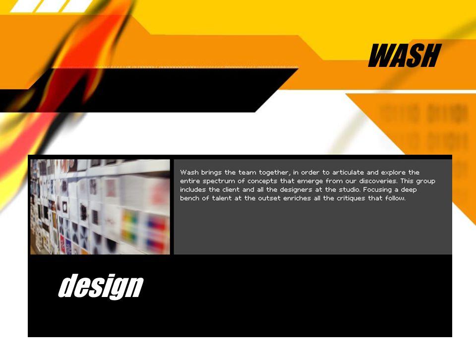 WASH design
