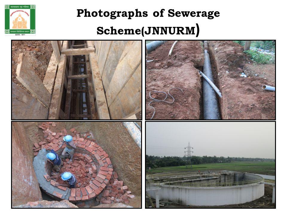Photographs of Sewerage Scheme(JNNURM )