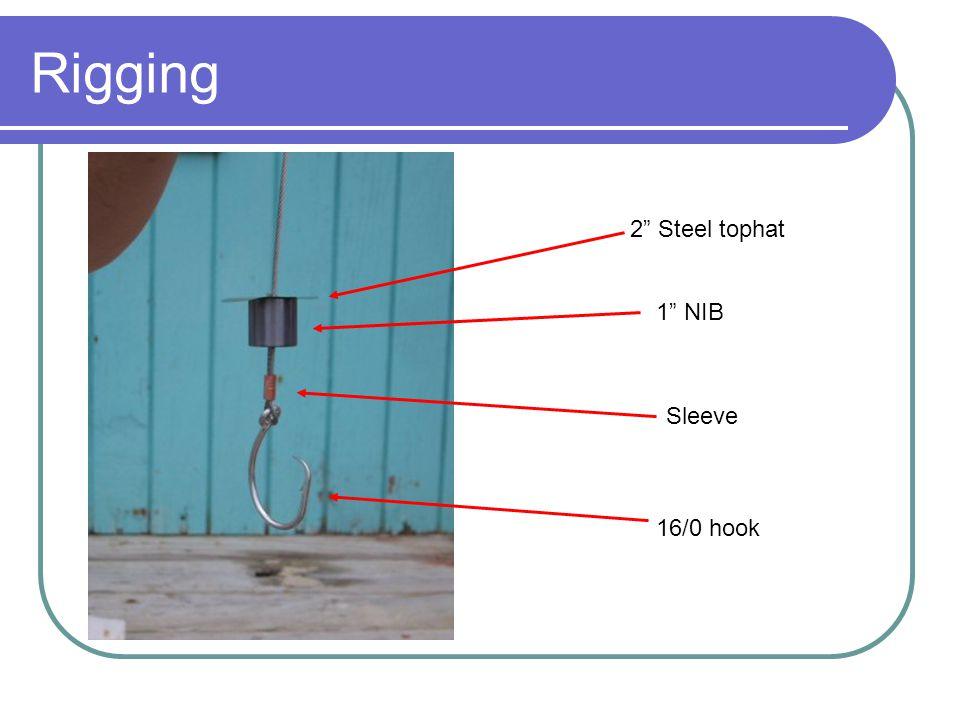 2 Steel tophat 1 NIB Sleeve 16/0 hook