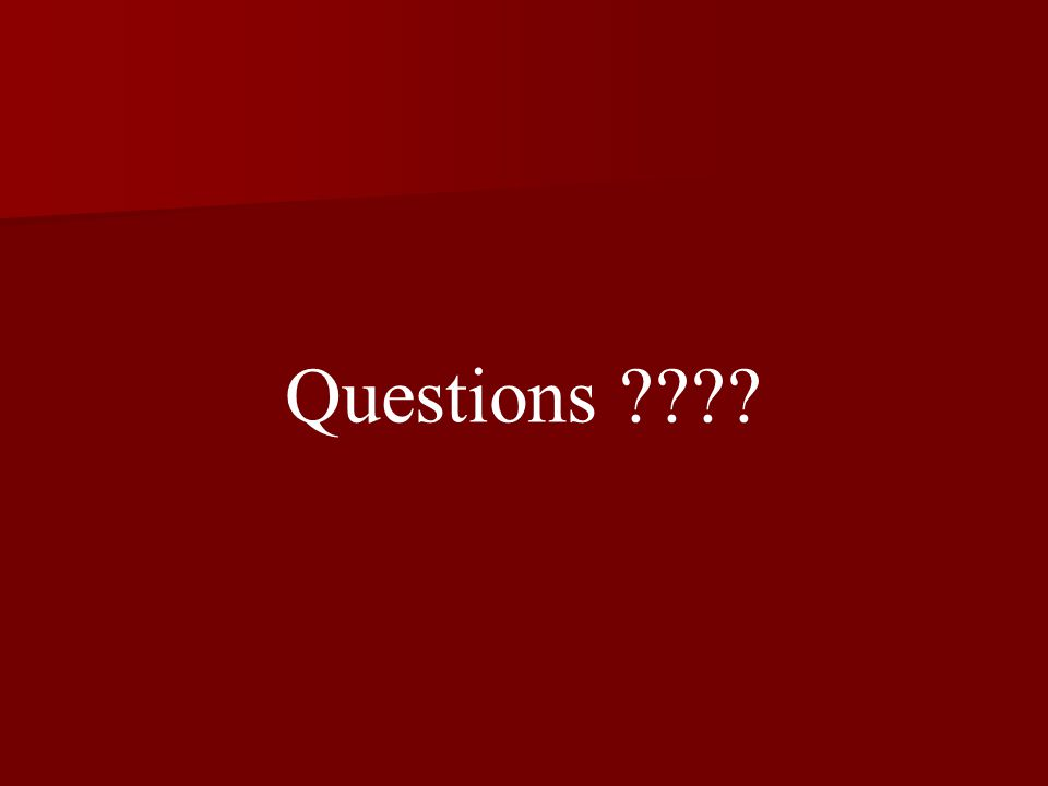 Questions ????