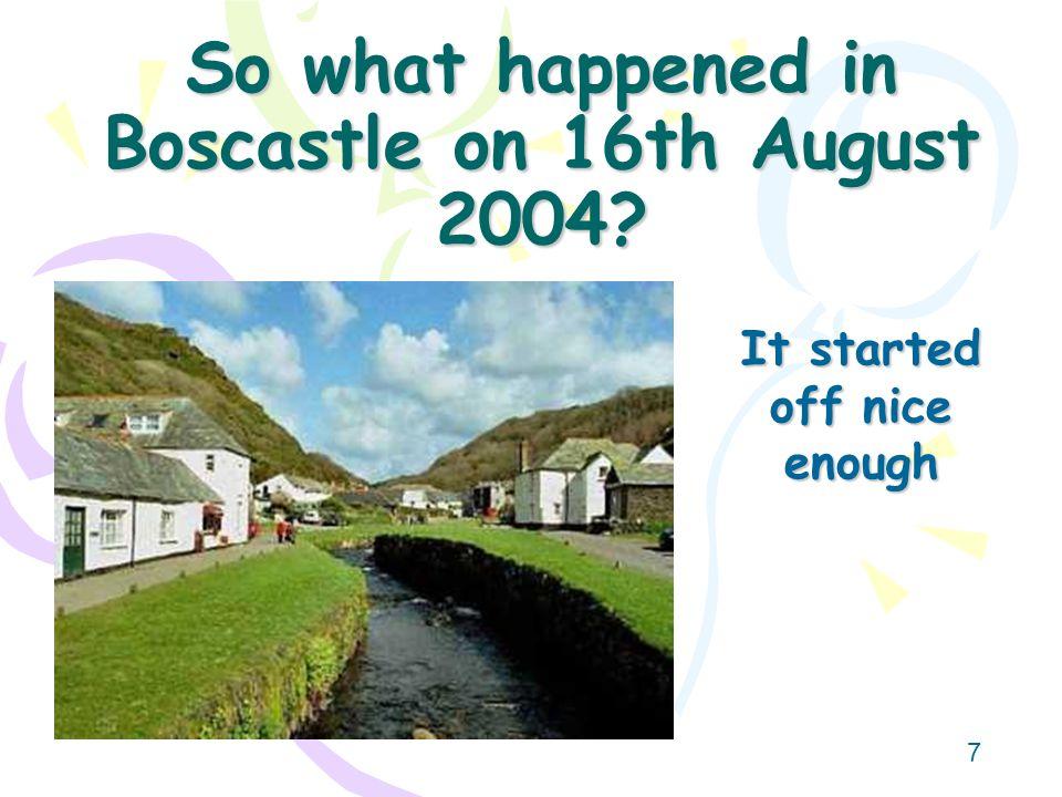 6 Where is Boscastle?