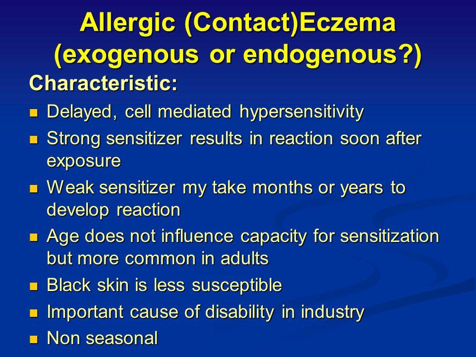 Atopic/IgE Dermatitis