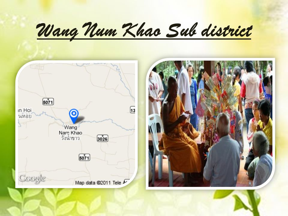 Wang Num Khao Sub district