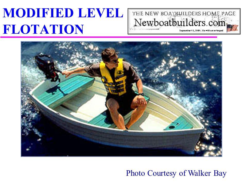 Photo Courtesy of Walker Bay MODIFIED LEVEL FLOTATION