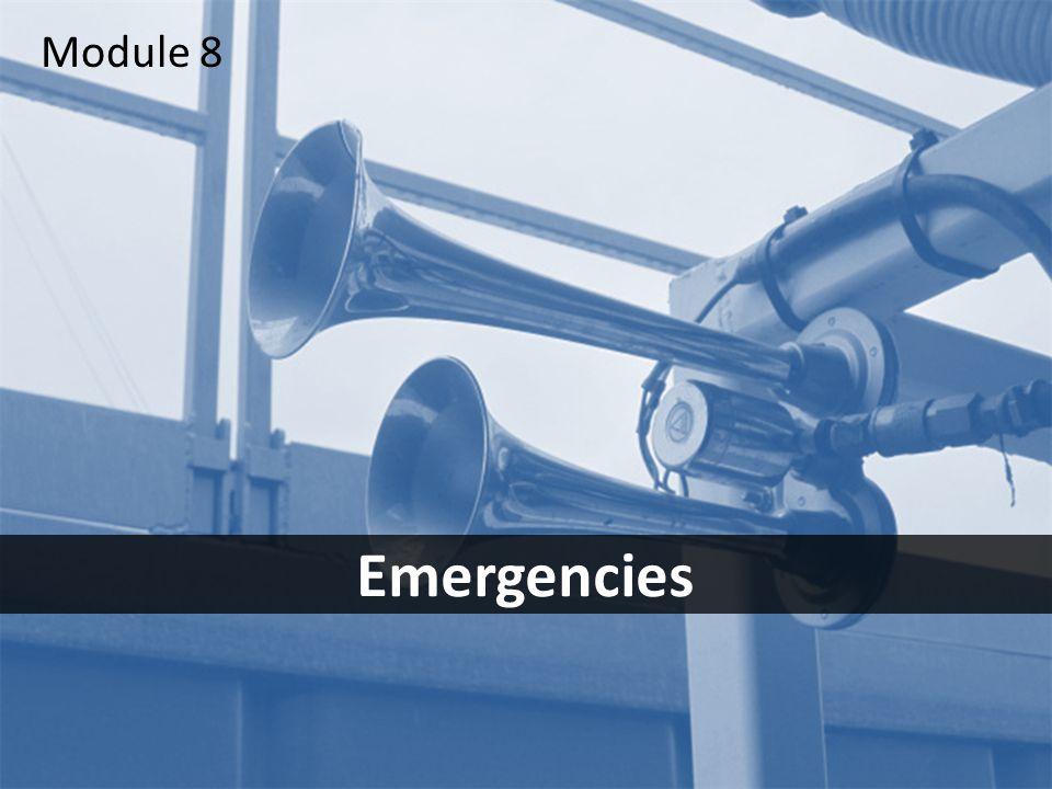 1 Emergencies Module 8