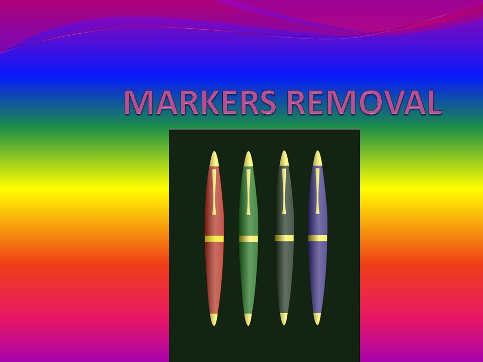Question: HOW PERMANENT ARE PERMANENT MARKERS?