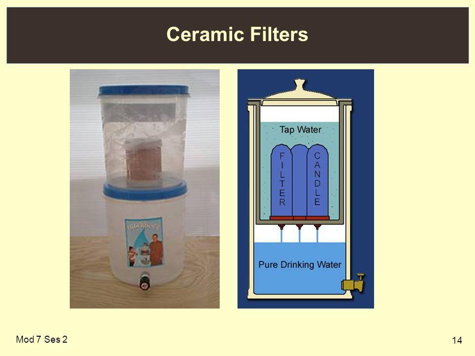 14 Ceramic Filters Mod 7 Ses 2