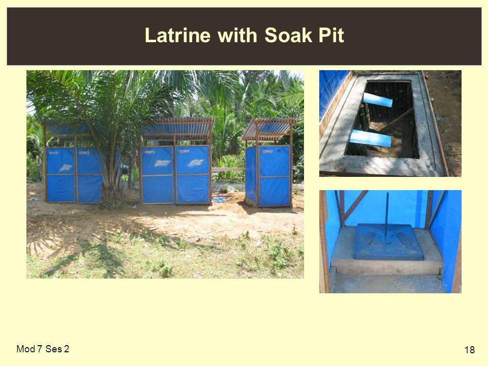18 Latrine with Soak Pit Mod 7 Ses 2
