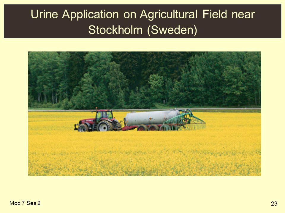23 Urine Application on Agricultural Field near Stockholm (Sweden) Mod 7 Ses 2