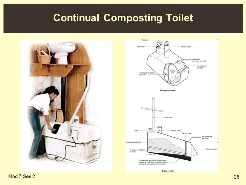 26 Continual Composting Toilet Mod 7 Ses 2
