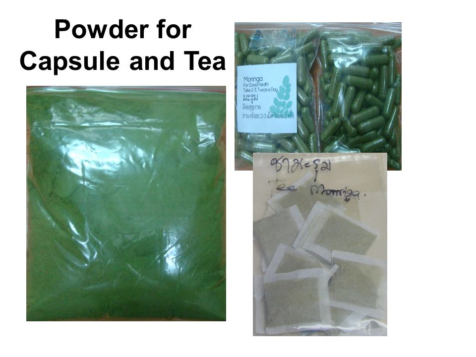 Powder for Capsule and Tea