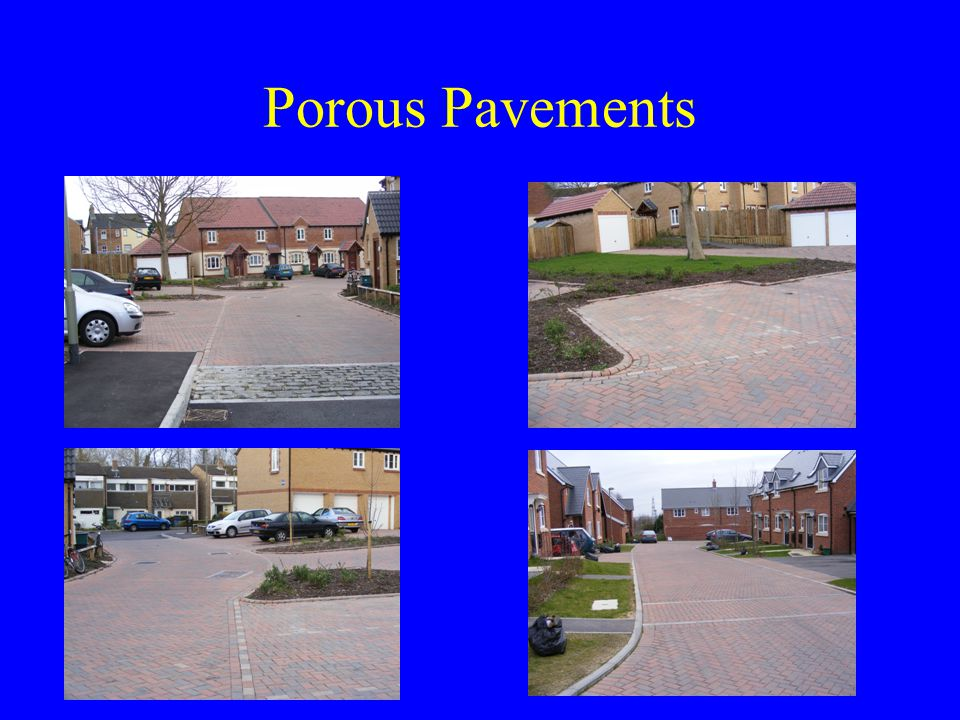 Porous Pavements