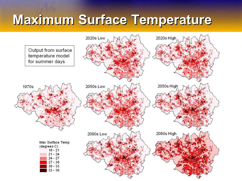 Maximum Surface Temperature