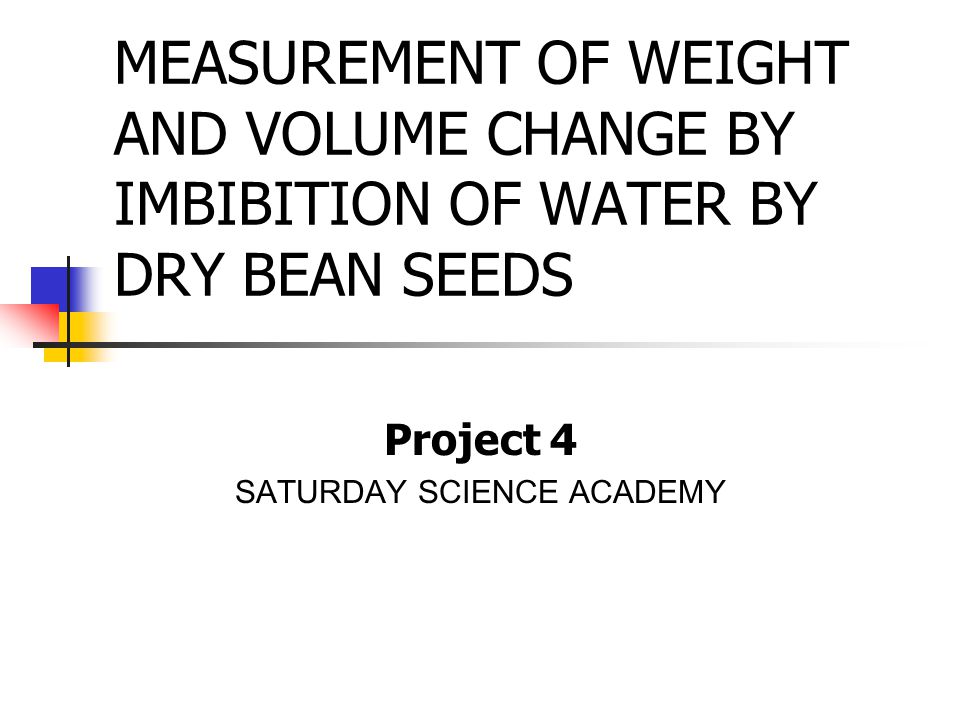 Results on Navy Bean