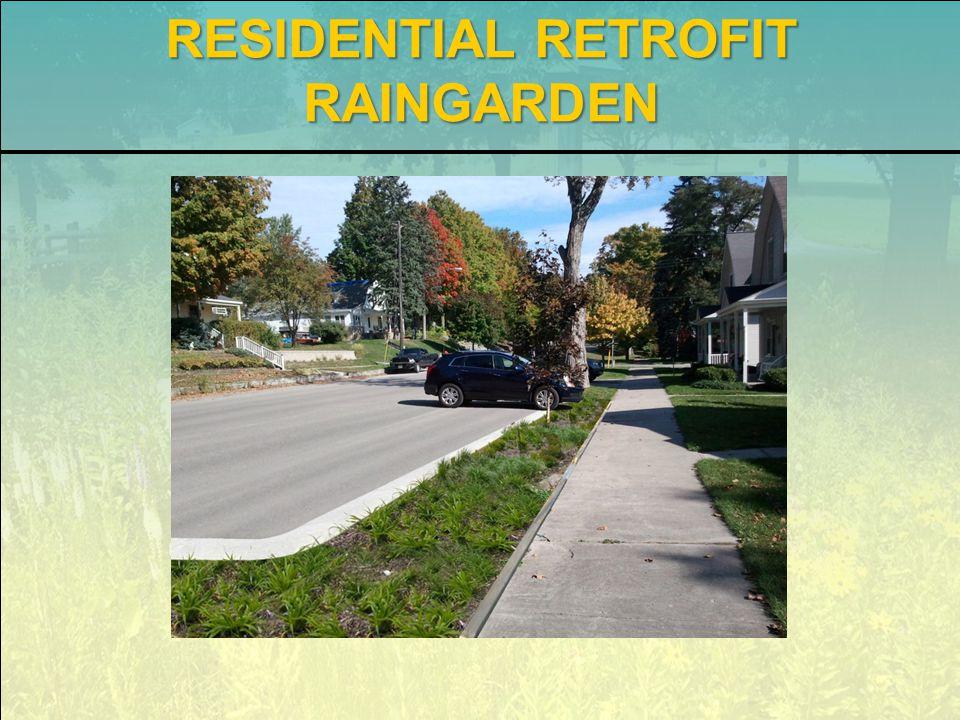 RESIDENTIAL RETROFIT RAINGARDEN