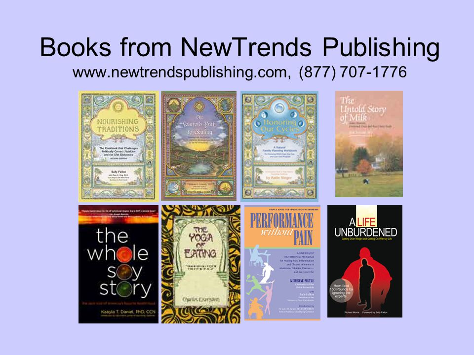 Books from NewTrends Publishing www.newtrendspublishing.com, (877) 707-1776