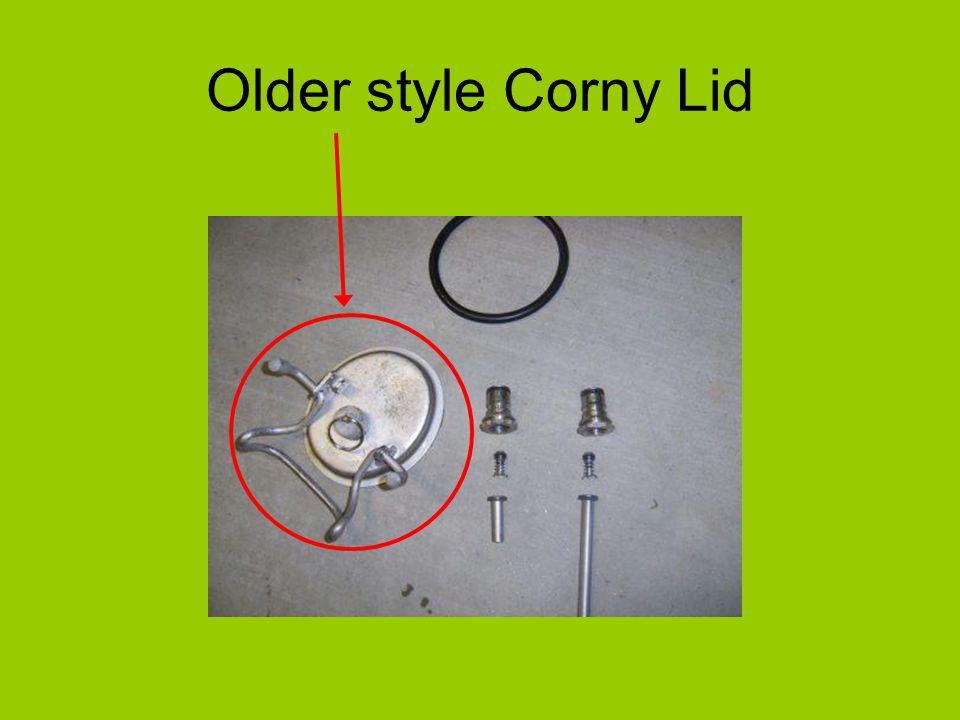 Older style Corny Lid