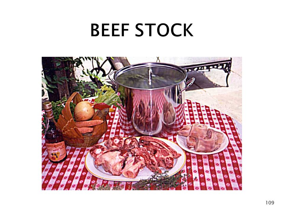 BEEF STOCK 109