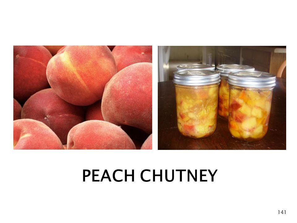 PEACH CHUTNEY 141