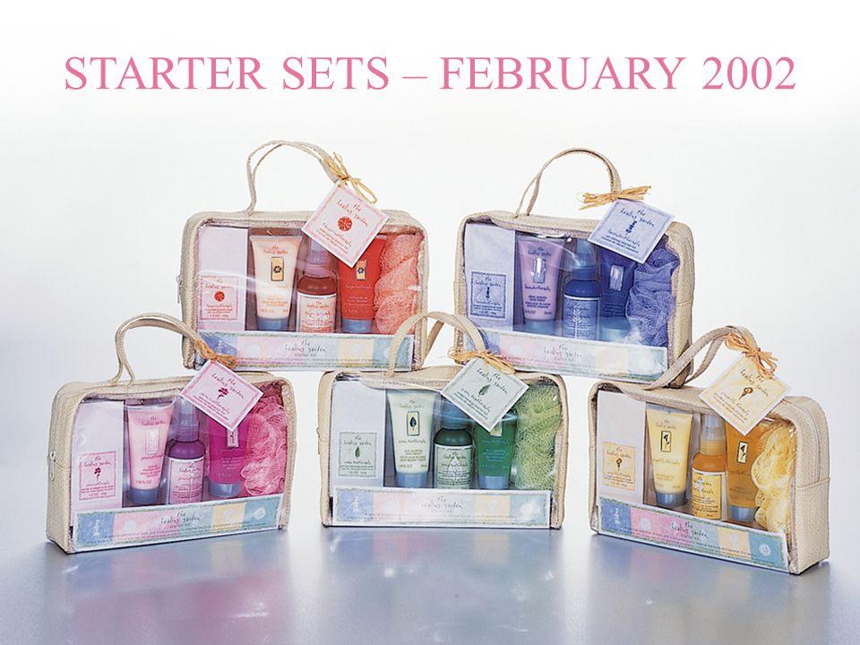 STARTER SETS – FEBRUARY 2002