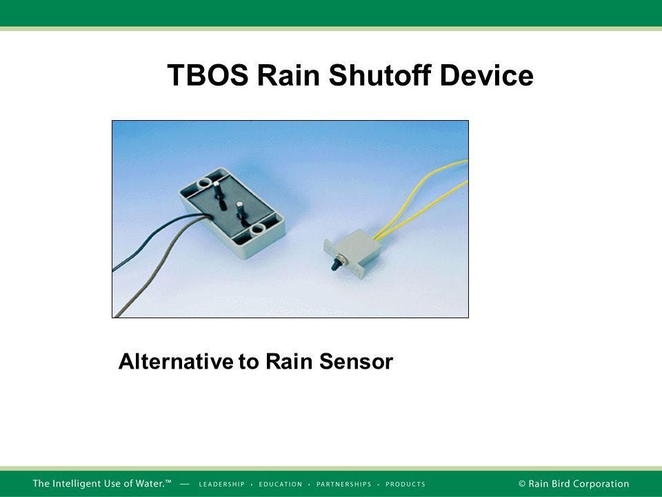 TBOS Rain Shutoff Device Alternative to Rain Sensor