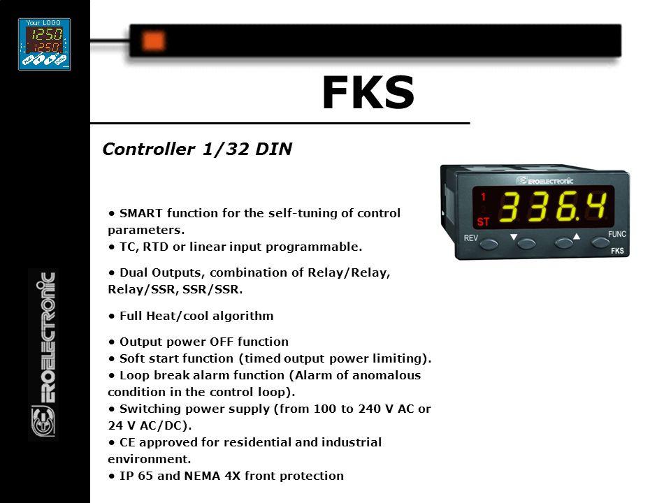 1/16 DIN 3 & 4 digit temperature controllers LDE - LME Dual 3 digit display or single 4 digit display.