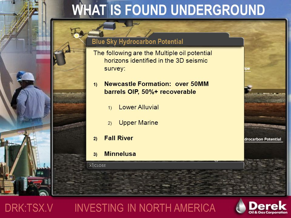 WHAT IS FOUND UNDERGROUND DRK:TSX.V INVESTING IN NORTH AMERICA