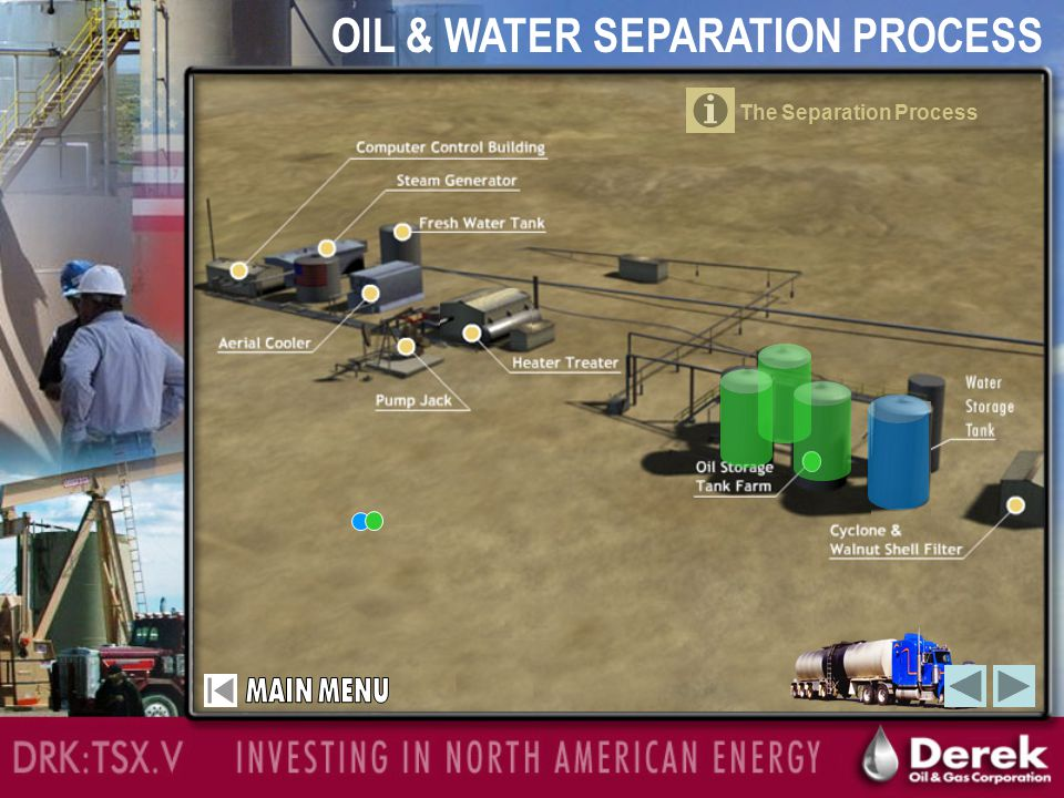 OIL & WATER SEPARATION PROCESS