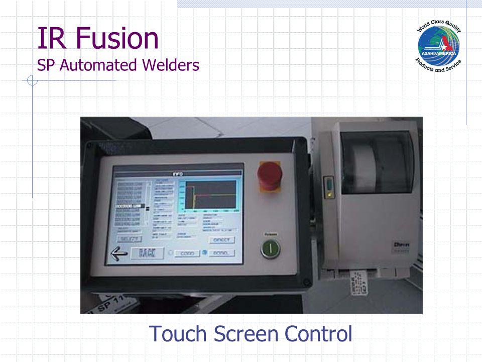 IR Fusion SP Automated Welders Weld Info Documentation